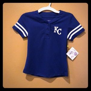 MLB Kansas City Royals Girls T Shirt